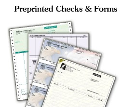 Preprinted Forms and Check Supplies